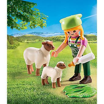 Playmobil 9356 Special Plus landmand med får
