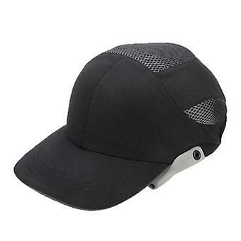 Safety Bump Cap med reflekterande ränder lätt och ventilerande hård hatt