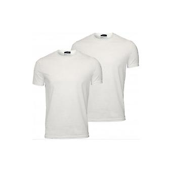 DSQUARED2 Twin Pack Basic Valkoinen T-paidat