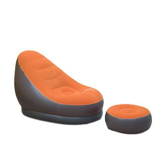 Relax Lazy Sofa Inflatable Sofa Chair And Ottoman Set
