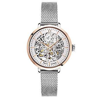 Pierre Lannier Naisten automaattinen analoginen kello massiivisella ruostumattomasta teräksestä valmistetulla hihnalla 312B628