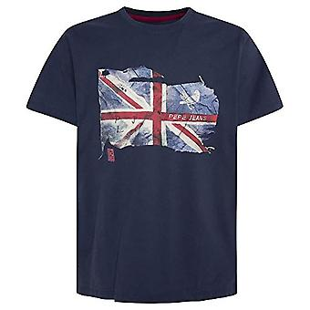 Pepe Jeans Sid T-Shirt, 591, L arge Uomo
