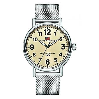 River Woods Analog Watch Men's Quartz with Stainless Steel Strap RW420018