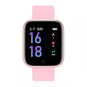 Smarty Smarty Horloges Connected Horloges SW013C - Roze Siliconen Band