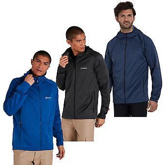 Berghaus Mens 2021 Spitzer Hooded Interaktiv Utomhus Hooded Jacket Fleece