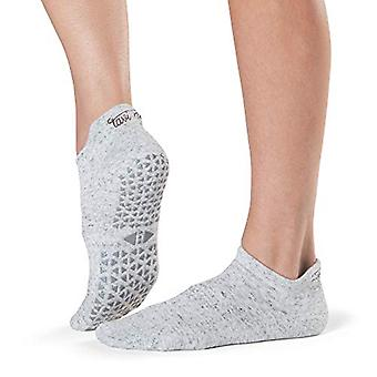 Tavi Noir Unisex's Savvy Yoga & Pilates Grip Sock, Haze, S