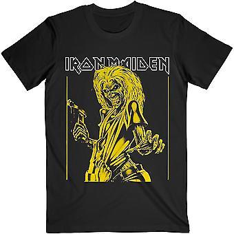 Iron Maiden Yellow Flyer Official Tee T-Shirt Unisex