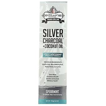 Meu Magic Mud Silver Charcoal Teeth Whtening, 4 Oz