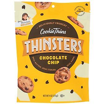 Thinsters Cookie Tenký choc čip, puzdro 12 X 4 Oz