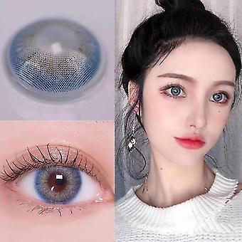 nya 0 4-tonsseriefärgade kontaktlinser för ögon sm48070