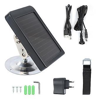 7V 1500mah outdoor solar panel charger us/eu plug external power battery source only for suntek hunting cameras