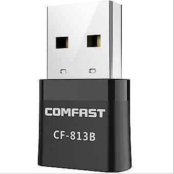 650 Mbps Dual Band 2.4G&5.8G Trådlös WiFi-adapter Bluetooth 4.2 Wifi Dongle för stabil DATOR BT