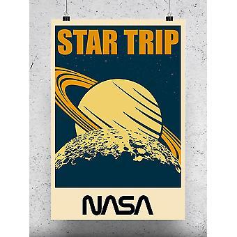 Star Trip Poster - NASA Designs