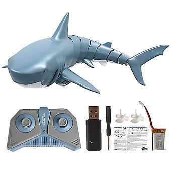 2.4g Rc 迷你电子鲨鱼鱼船,遥控器,模拟玩具
