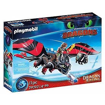 Playmobil Dragon Racing: Hipo y Desdentado 70727