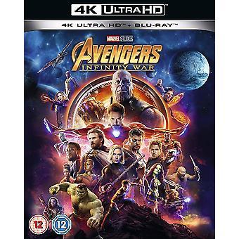 Avengers Infinity War Blu-ray 4K