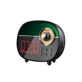 Remax RB-M50 Wireless Digital Alarm Clock Portable Bluetooth Speaker Stereo Subwoofer Audio Black