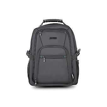 "Laptop Backpack Urban Factory HTB17UF Black 17.3"""