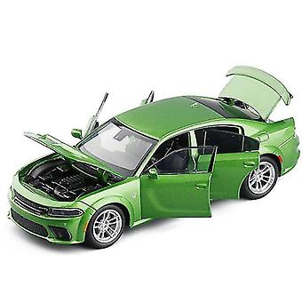 Toy cars 1/32 alloy shock absorber charger model toy car simulation front wheel steering die cast vehicle
