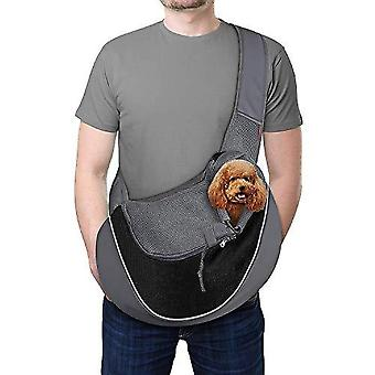 Reflective Pet Dog Sling Carrier Traspirante Mesh Travel Safe Sling Bag Carrier For Dogs Cats (s Up To