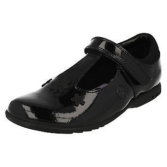 École de puce en forme de t filles Clarks Shoes avec lumières Trixi Beau
