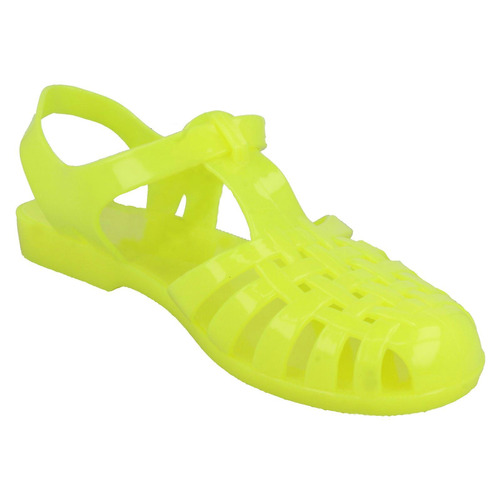 Ladies Spot On Jelly Sandals