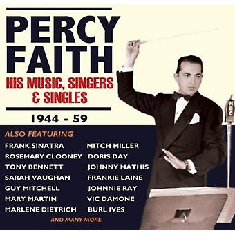 Percy Faith - sa musique chanteurs & Singles [CD] USA import