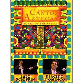 Schifrin/Domingo - Cantos Aztecas [DVD] USA import