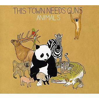 This Town Needs Guns - Animals [CD] USA import