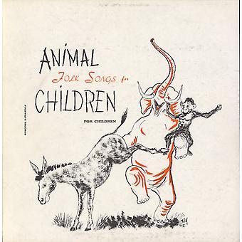 Peggy Seeger - canciones populares de animales para niños: importación de Estados Unidos seleccionados de Ruth [CD]