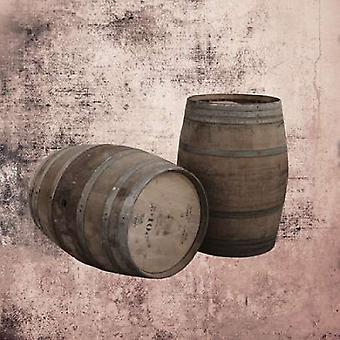 Wine Barrels 2 Poster Print by Victoria Brown