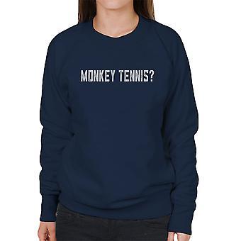 Alan Partridge Monkey Tennis vrouwen Sweatshirt