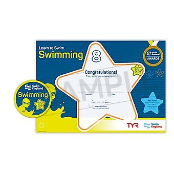 ASA Swim England Learn to Swim - Stage 8 Swimming Award