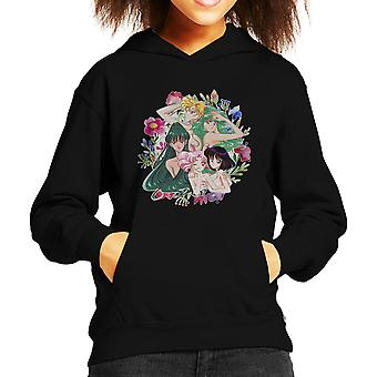 Outer Senshi Soldiers of the Outer Solar System Sailor Moon Kid's Hooded Sweatshirt