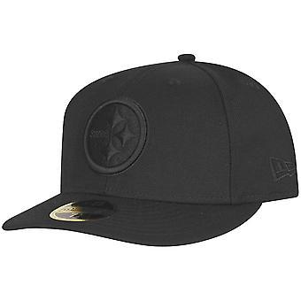Ny era 59Fifty låg profil Cap Pittsburgh Steelers svart