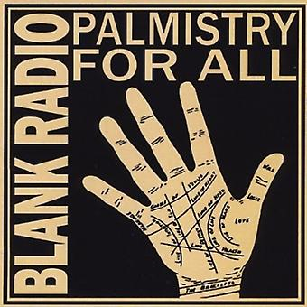 Blank Radio - Palmistry for All [CD] USA import