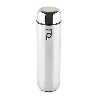 Grunwerg Drinkpod 300ml Stainless Steel Vacuum Flask Various Colours