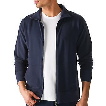 Mey 23593-668 Men's Enjoy Blue Solid Colour Pajama Pyjama Top