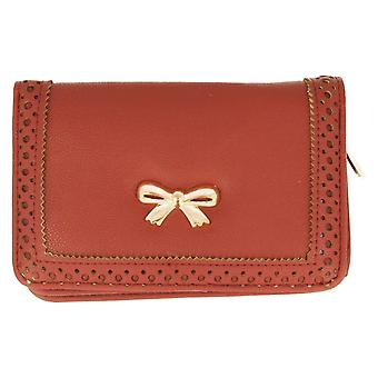 Ella Ladies Purse With Bow Detail 73233