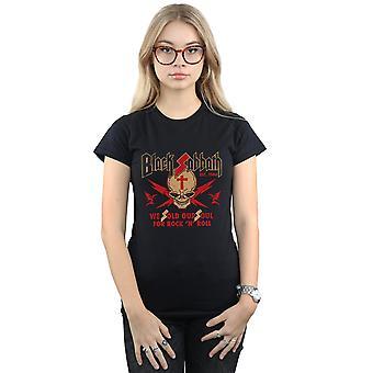 Black Sabbath Women's Skull Crest T-Shirt