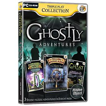 Triple Play Collection Ghostly Adventures (PC CD) - Uusi