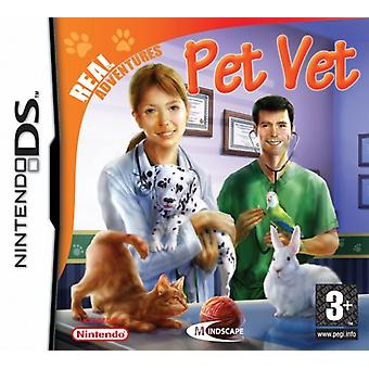 Real Adventures Pet Vet (Nintendo DS) - As New