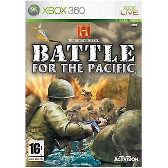 History Channel Battle for the Pacific (Xbox 360) - Novo