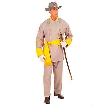 Konföderierten General Kostüm