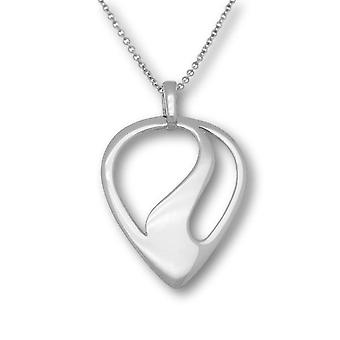 Sterling Silver Traditional Scottish Etive Flowing Hand Crafted Necklace Pendant