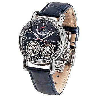 Carl of Zeyten men's watch wristwatch automatic Bernau CVZ0033BL