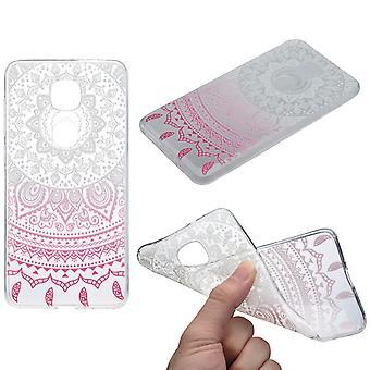 Henna Cover für LeEco Le Pro 3 Case Schutz Hülle Silikon Sonne Weiß