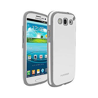 Puregear Slim Shell fall för Samsung Galaxy S3 (vaniljstång)
