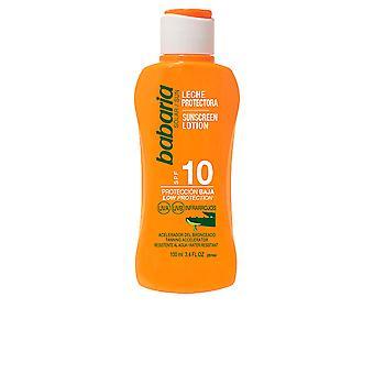 BABUCWE solaire Aloe Vera Leche solaire Spf10 100 Ml unisexe