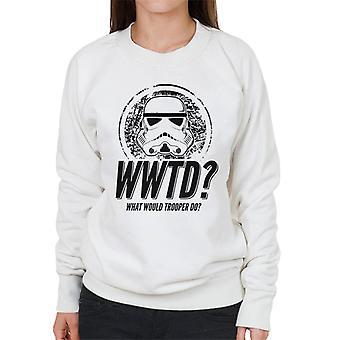 Original Stormtrooper What Would Trooper Do Women's Sweatshirt